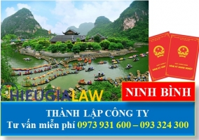 Thành Lập Công Ty Tại Ninh Bình - dịch vụ thành lập công ty giá rẻ