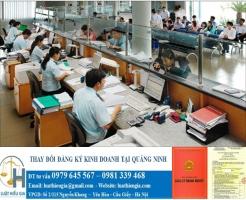 Thay đổi đăng ký kinh doanh tại Quảng Ninh