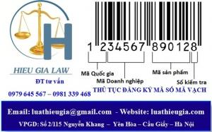 Thủ tục đăng ký mã số mã vạch cho sản phẩm