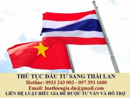 Thủ tục đầu tư sang Thái Lan