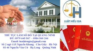 Thủ tục làm sổ đỏ tại Quảng Ninh