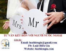 Tư vấn kết hôn với người nước ngoài tại Hà Nội