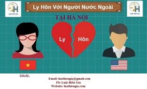 Tư vấn ly hôn với người nước ngoài tại Hà Nội
