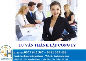 Tư vấn thành lập công ty tại Quảng Ninh