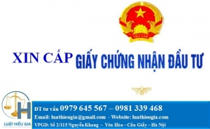 Thủ tục xin giấy chứng nhận đầu tư tại Việt Nam