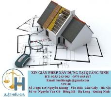 Xin giấy phép xây dựng tại Quảng Ninh