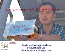 Xin phù hiệu xe ô tô tại Bắc Ninh