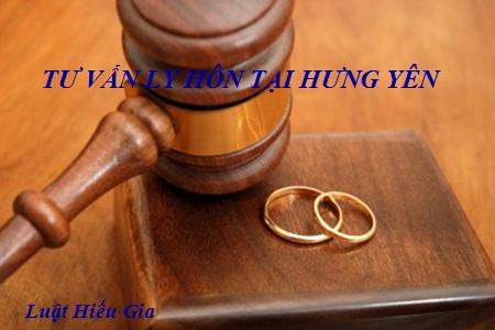 Tư vấn ly hôn tại Hưng Yên
