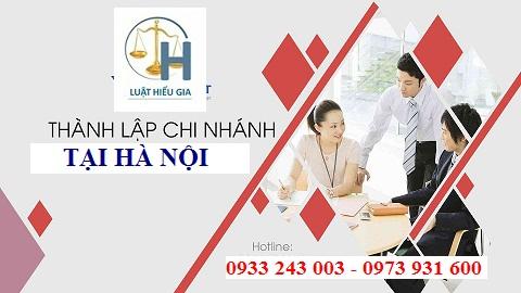Tư vấn mở chi nhánh tại Hà Nội