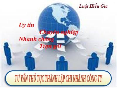 Tư vấn thành lập chi nhánh tại Hưng Yên