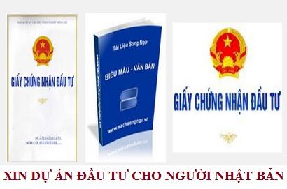 Xin dự án đầu tư cho người Nhật Bản tại Việt Nam